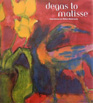 Degas to Matisse book